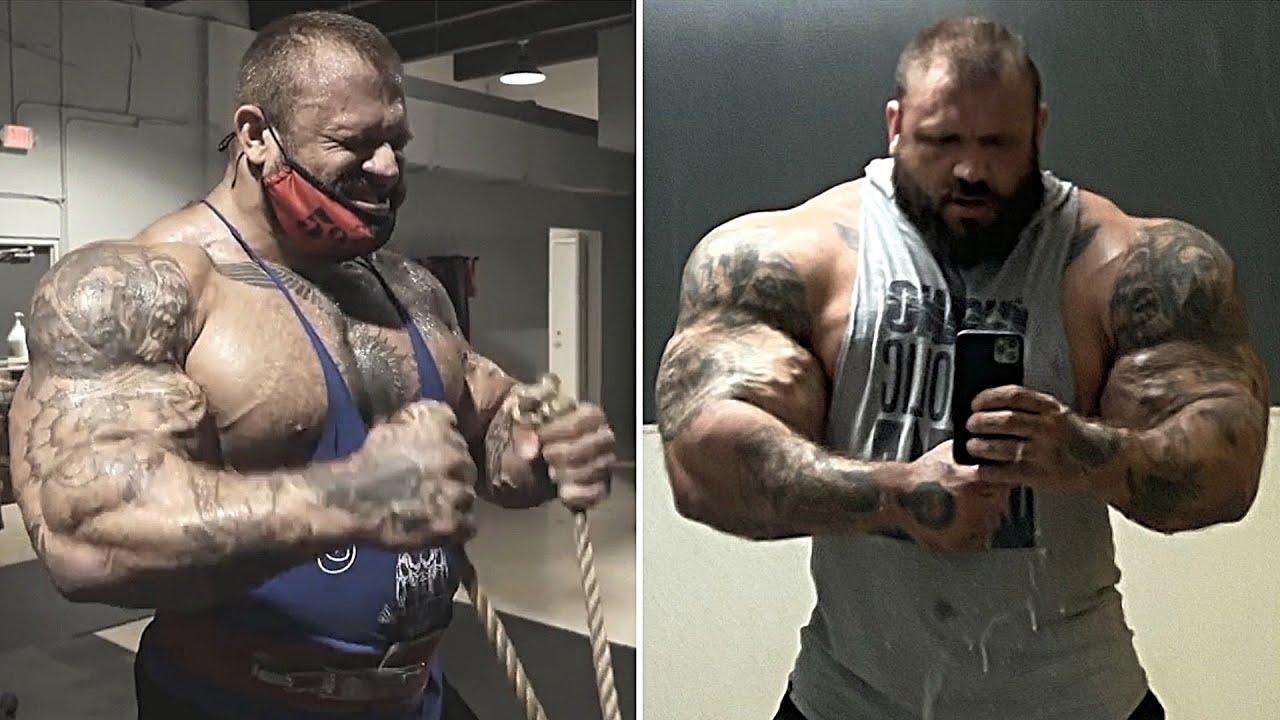 Илья Голем из Беларуси. 172 кг МАССЫ! / Жим 100 кг ОДНОЙ рукой