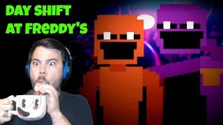 HOW MANY ENDINGS ARE THERE?! CAN YOU HELP ME OLD SPORT?! | Day Shift at Freddy's (LIVE)