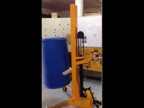 รถยกถัง drum stacker ชนิดยกสูง by QTE Group