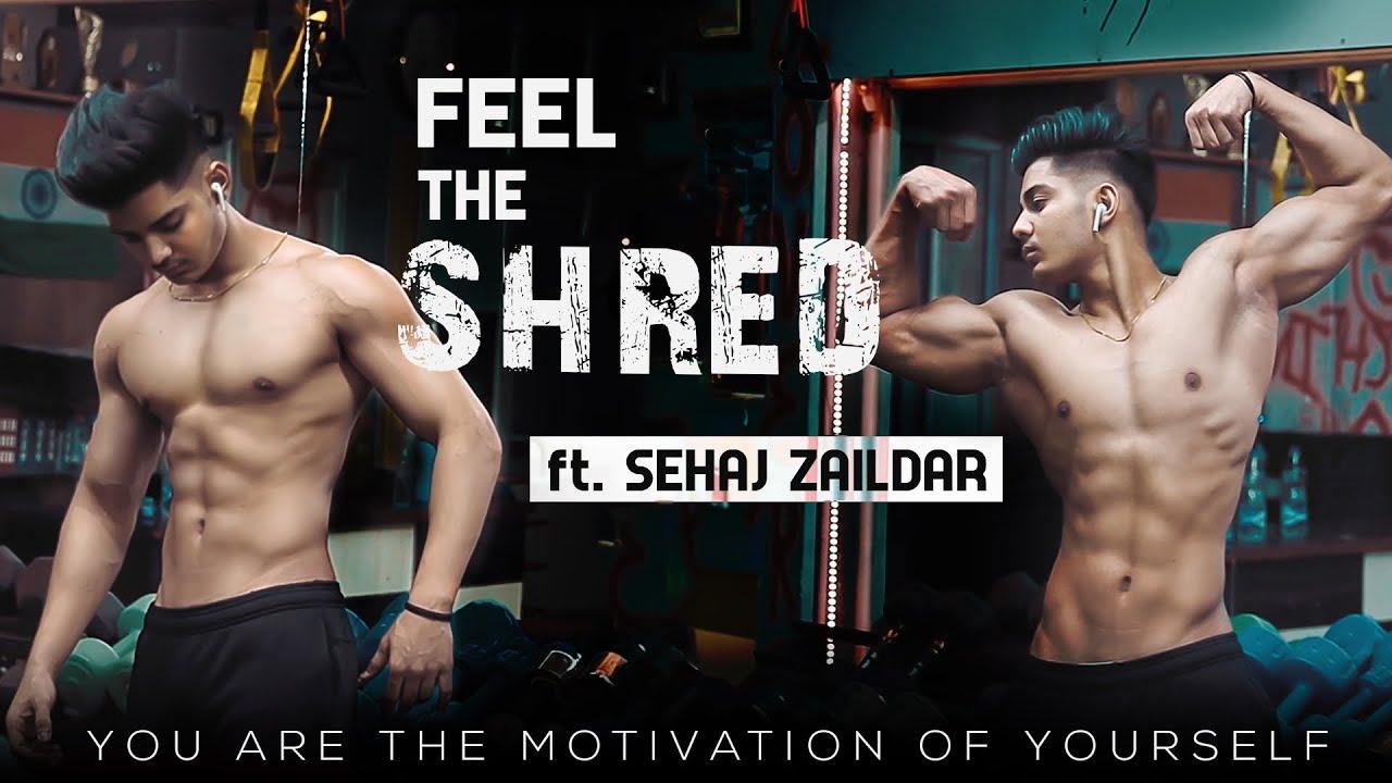 Feel The Shred | Gym Motivation | Teenager Bodybuilder | Sehaj Zaildar