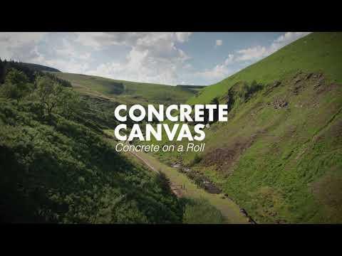 Apresentamos Concrete Canvas® GCCM: A alternativa de concreto com baixo teor de carbono