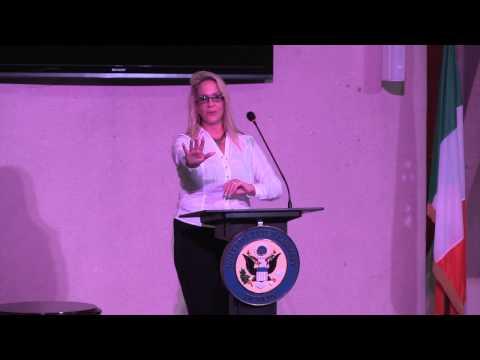 Brenda Romero at US Embassy Dublin