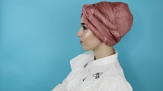 TURBAN TUTORIAL SIDE DOUBLE TWISTS| NABIILABEE