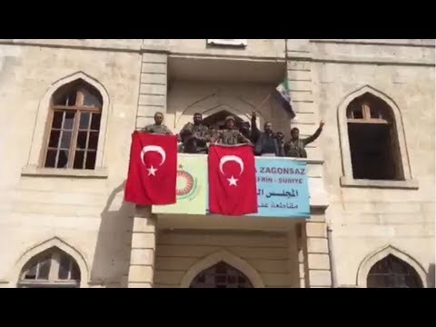 Erdogan announced the capture of Afrin