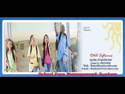 School Fees Management Software
