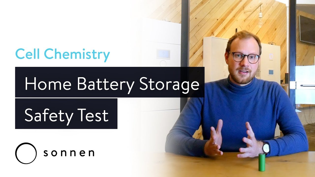 Home Battery Storage Safety Test