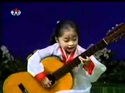 Cô Bé Triều Tiên - Tuyệt đỉnh Guitar.flv
