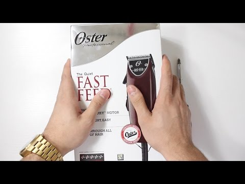 Oster Fast Feed Unboxing Review & Zero Gap!
