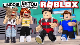 FIRST DAY AT THE ROBLOX SCHOOL ⏰😂