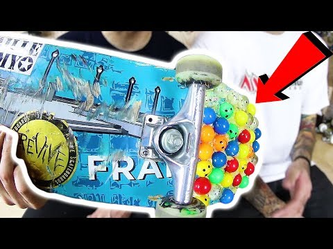 DO BOUNCY BALLS GIVE YOU MORE POP?! | STUPID SKATE EP 112