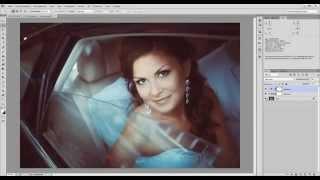Урок Цветокоррекция и тонирование свадебной фотографии в Фотошоп Уроки Фотошопа