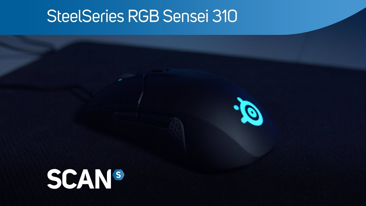 Steelseries Sensei 310 Rgb Optical Gaming Mouse Overview Youtube