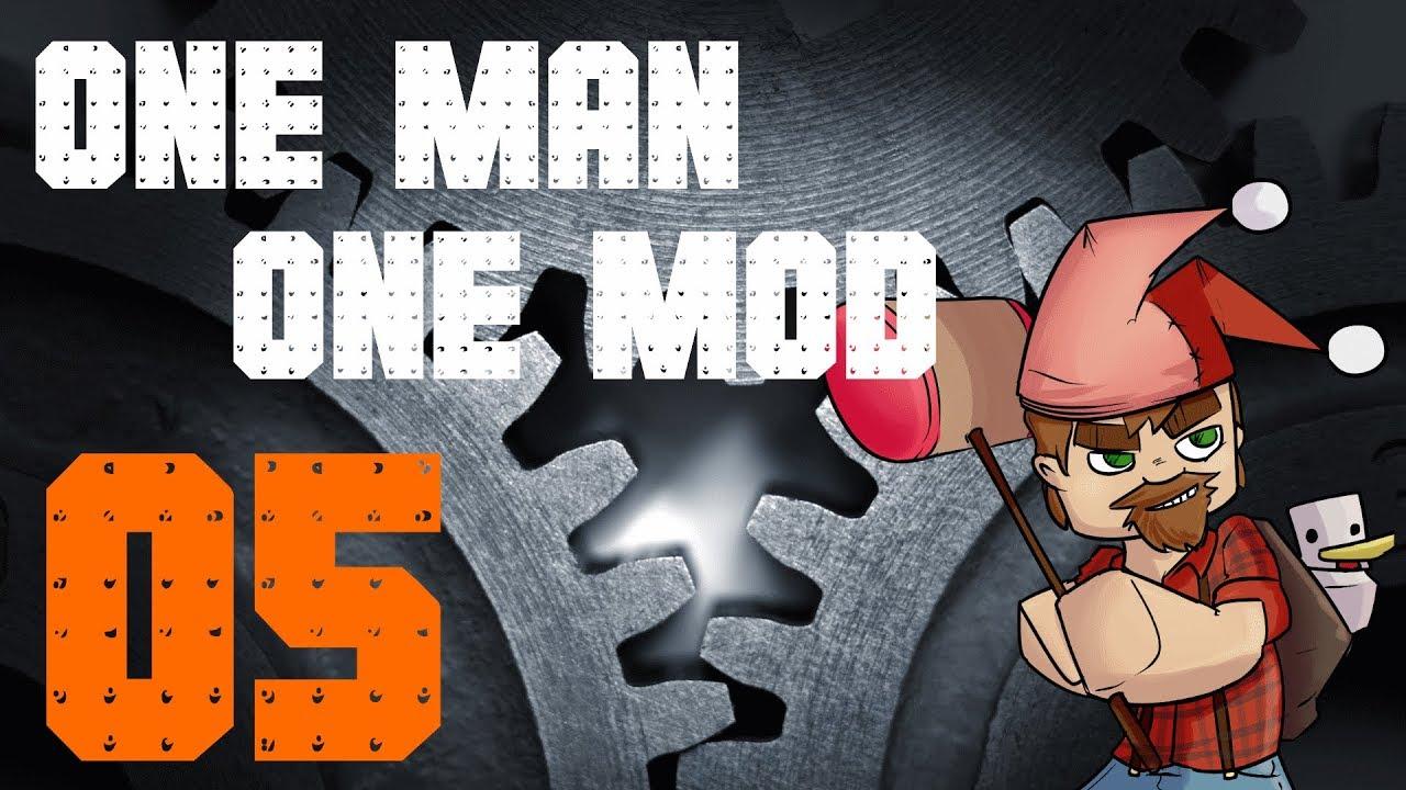 1 12 Modded Minecraft OMOM: Learning Immersive Engineering