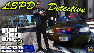LSPD Detective Patrol in Unmarked Crown Vic | GTA 5 LSPDFR Episode 263