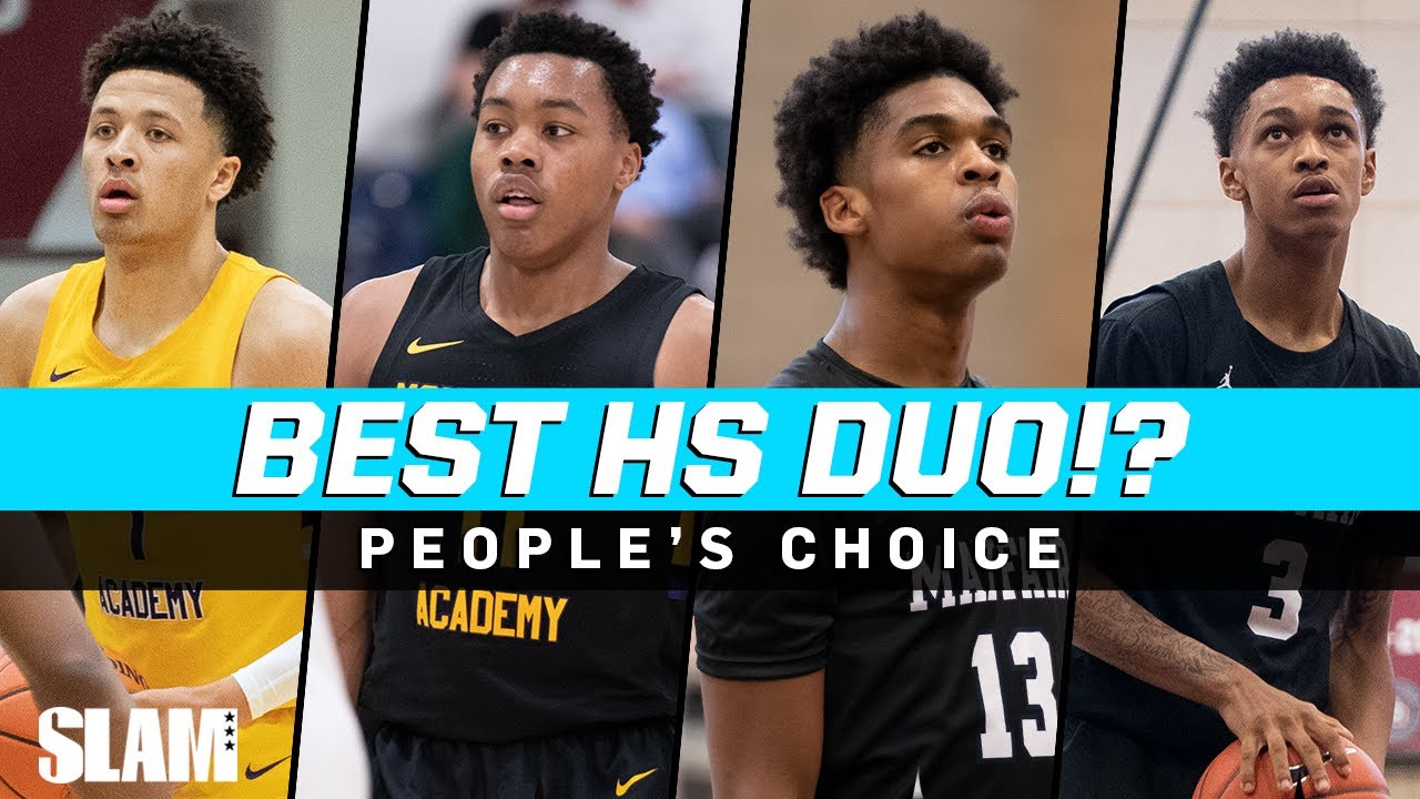 Who's the Best HS Duo? 🤔 Jalen Green, Josh Christopher, Cade Cunningham, & More!