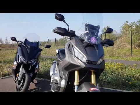 Duel Honda X Adv Vs Yamaha Tmax 530 Premières Impressions Youtube