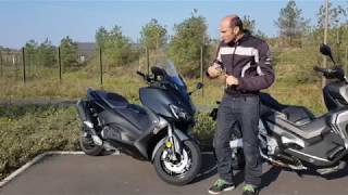 Duel Honda X-ADV Vs Yamaha Tmax 530 :  premières impressions