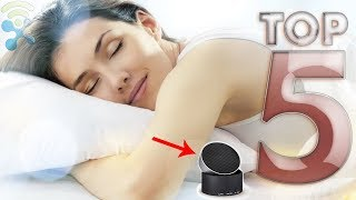Top 5 Best Sleep Sound Machines You Can Buy Now On Amazon ✅ White Noise Machines for Better Sleep