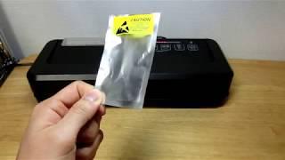 【販売価格:12,980円】フードシールド JP290 静電気防止袋/電子部品 実演