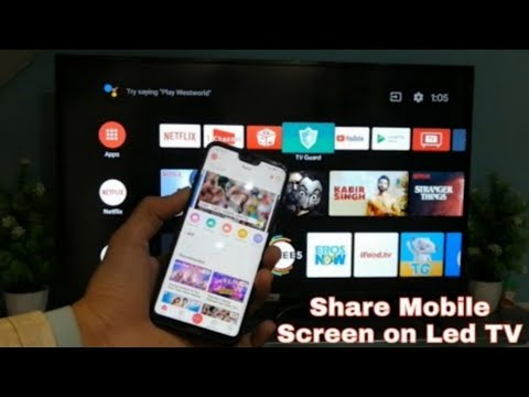 TCL Android LED TV With Google Play Store | Share Mobile Screen On TCL LED TV