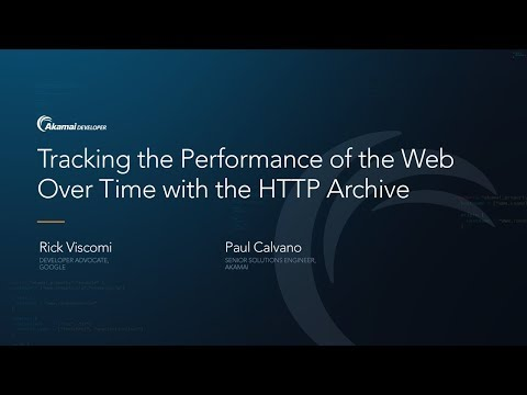 Tracking the Performance of the Web Over Time with the HTTP Archive
