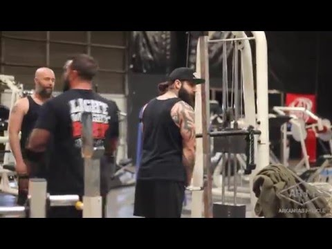 Brutal Arm Training | 2016 | Arkansas Muscle Gym