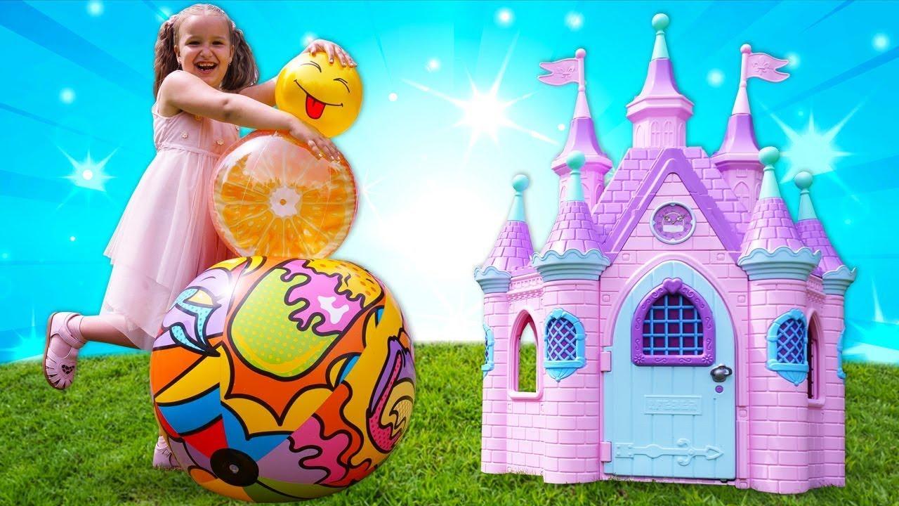 Музыка и Песенки для малышей. Детские клипы - игры для детей в мячики