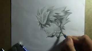 Pencil Drawing -Sawada tsunayoshi (Katekyo Hitman Reborn)