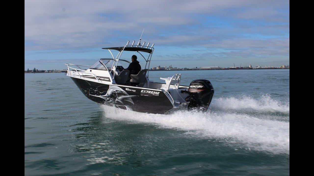 2016 Extreme 570 Sport Fisher - Mastertech Marine Nz