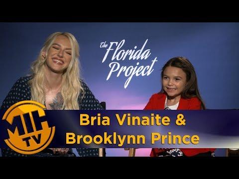 Bria Vinaite & Brooklynn Prince The Florida Project Interview