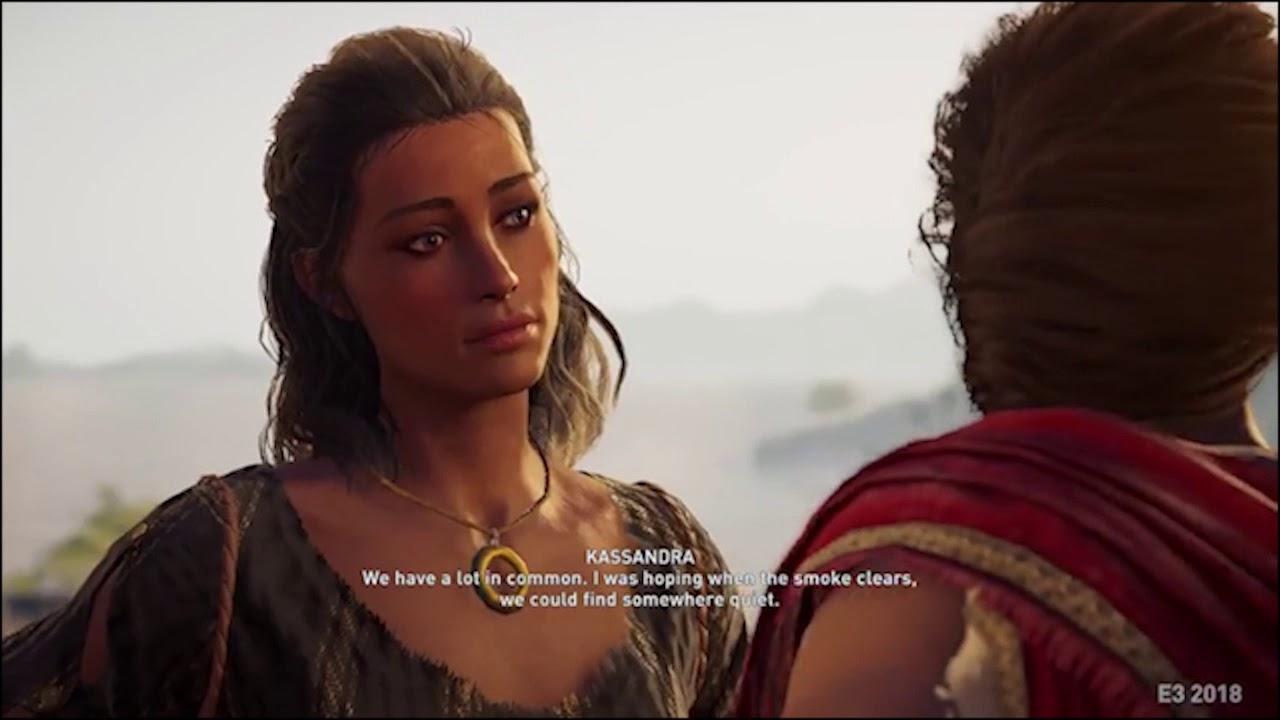 Kassandra And Kyra Love Romance Assassins Creed Odessey Gameplay