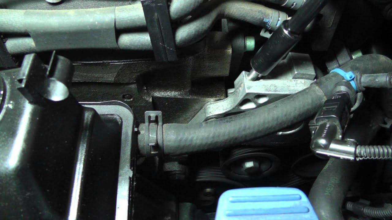 Volkswagen Jetta Removing Power Steering Pump Part 1  YouTube