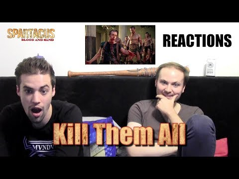 """Spartacus : Blood And Sand 1x13 """"Kill Them All"""" REACTIONS"""