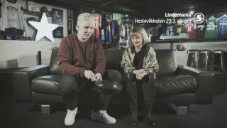 Lindemania TV5:lla keskiviikkoisin klo 20.00 alkaen 29.3.