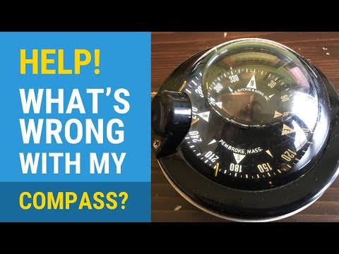 What's Wrong With This Boat Compass? (Air Bubble)