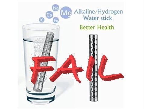 Dont' buy - no PH change! Drhob Health Alkaline Water Stick PH Hydrogen Negative ION Ionizer