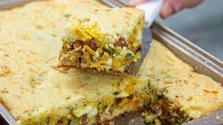 Maravilhosa Torta De Legumes – Super Rápida Para Preparar