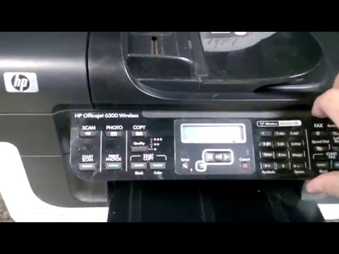 How To Replace Control Panel Screen On Hp Officejet 6500