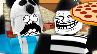 HE STOLE MY PIZZA!! | Roblox Meep City