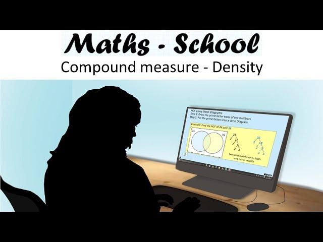 Density (Mass/Volume) Maths GCSE revision Lesson (Maths - School)