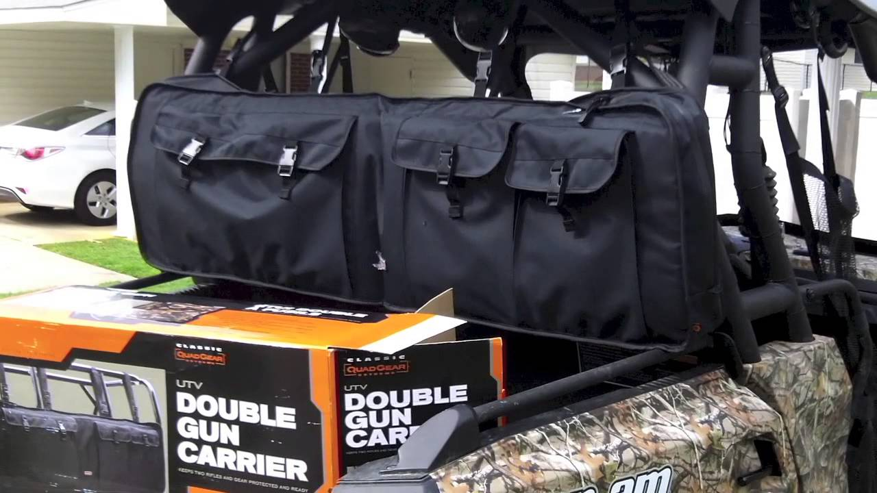 Quadgear Utv Gun Case And Review On A Can Am Commander