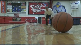 Asbestos discovered under Austintown Fitch's warped gym floor