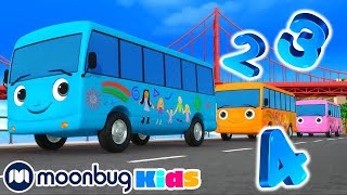 10 Little Buses V2 - Little Baby Bum | Nursery Rhymes and Kids Songs