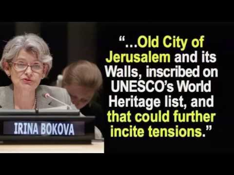 Muslims Ask UN To Seize Western Wall from Jews