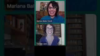 Fonoaudiologia, arte, comunicação e promoção da saúde -  Bate-papo com  Clarisse Lopes