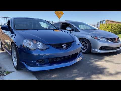 K20A2 vs. K24Z7: Which is the SUPERIOR Motor? 2013 Honda Civic Si vs. 2002 Acura RSX Type-S!!