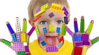 LEGO HANDS + more | Lagu Anak-anak dari Katya dan Dima