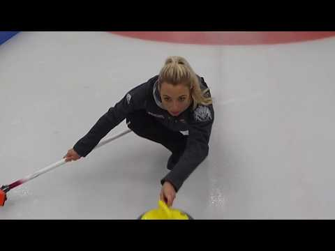 Curling Interviews - Anna Sloan And Try Curling