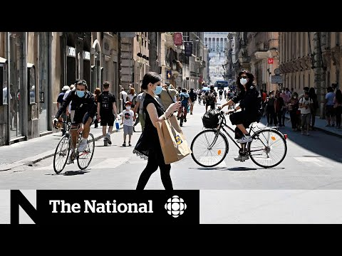 CBC News: The National: Italians nervous as regional borders reopen