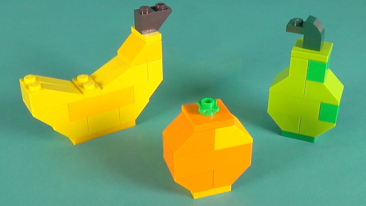 Lego Fruits Building Instructions